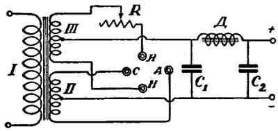 Выпрямитель тока 220 вольт